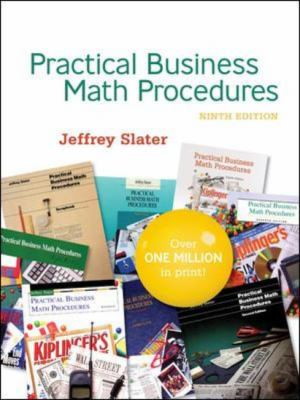 Practical Business Math Procedures [With Paperback Book] 9780077214562