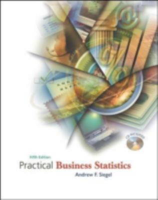 Practical Business Statistics with Student CD-ROM 9780072821253