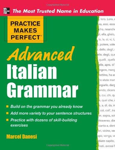 Advanced Italian Grammar 9780071476942
