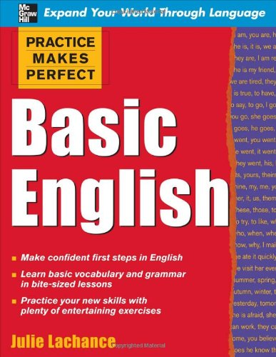 Practice Makes Perfect: Basic English 9780071597623