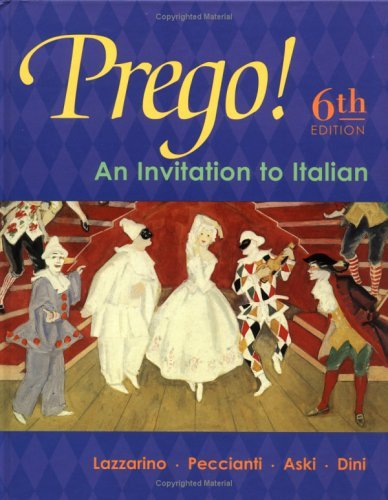 Prego!: An Invitation To Italian 9780072561319