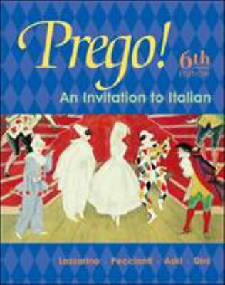 Prego! an Invitation to Italian Student Prepack with Bind-In Card