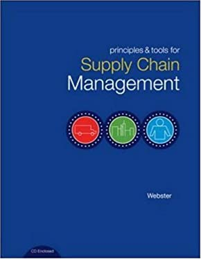 Principles and Tools for Supply Chain Management [With CDROM] 9780072872682