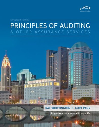 Principles of Auditing & Assurance Services with ACL Software CD 9780077304454