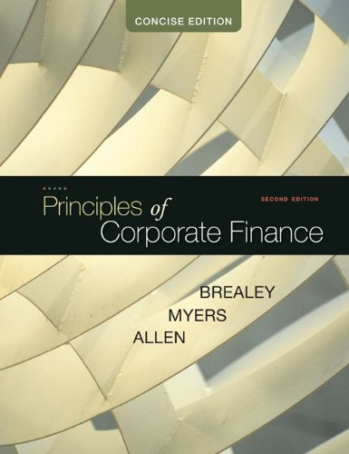 Principles of Corporate Finance: Concise 9780073530741