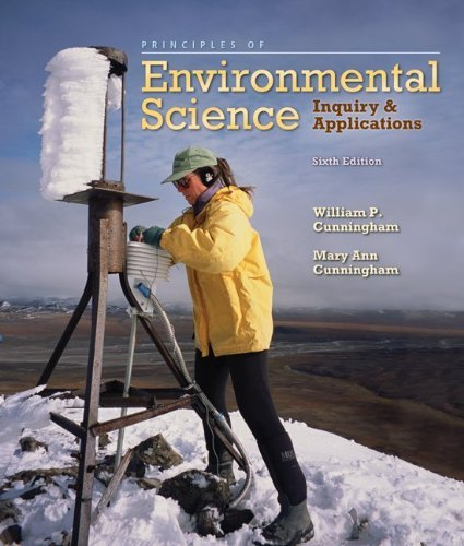 Principles of Environmental Science: Inquiry & Applications 9780073383248