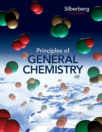 Principles of General Chemistry Student Solutions Manual 9780077386467