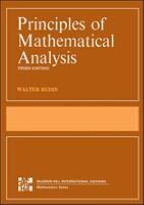 The Principles of Mathematical Analysis