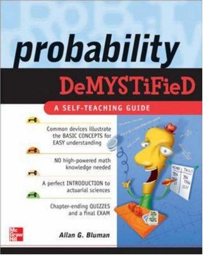 Probability Demystified 9780071445498