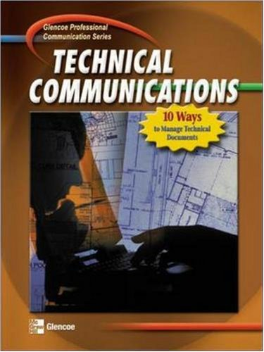 Professional Communication Series: Technical Communications, Student Edition 9780078298776