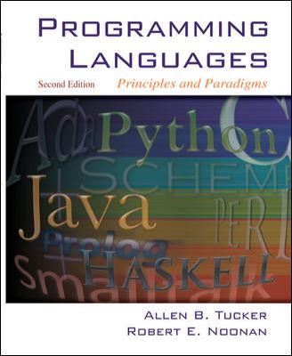 Programming Languages: Principles and Paradigms 9780072866094