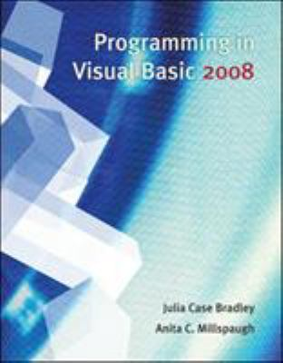 Programming in Visual Basic 2008 9780073517209
