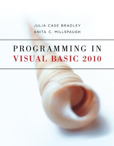 Programming in Visual Basic 2010 9780073517254