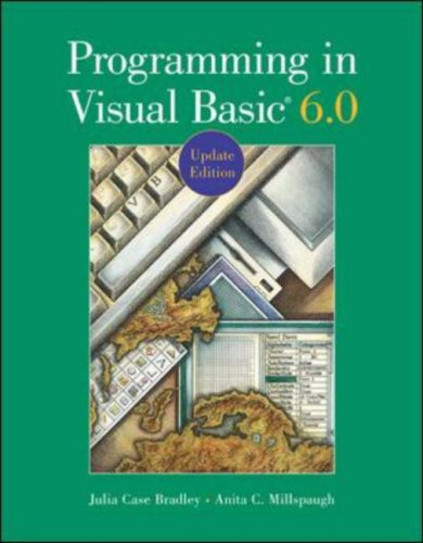 Programming in Visual Basic 6.0 Update Edition with CD [With CDROM] 9780072518740