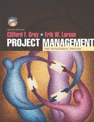 Project Management: The Managerial Process W/ Student CD-ROM 9780072833485