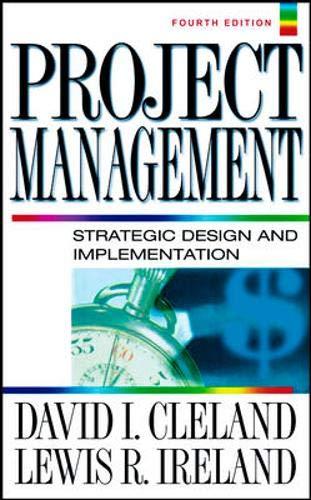 Project Management 9780071393102