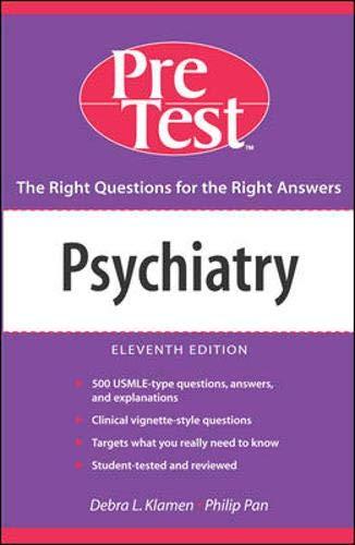 Psychiatry 9780071455541