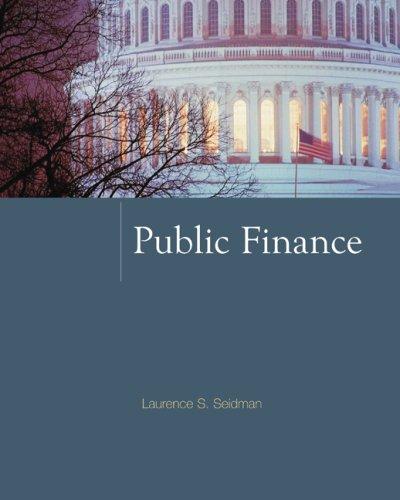 Public Finance 9780073375748