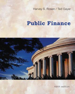 Public Finance 9780073511351