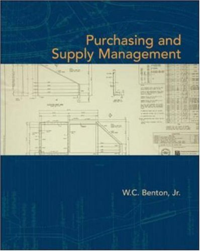 Purchasing and Supply Management 9780073525143