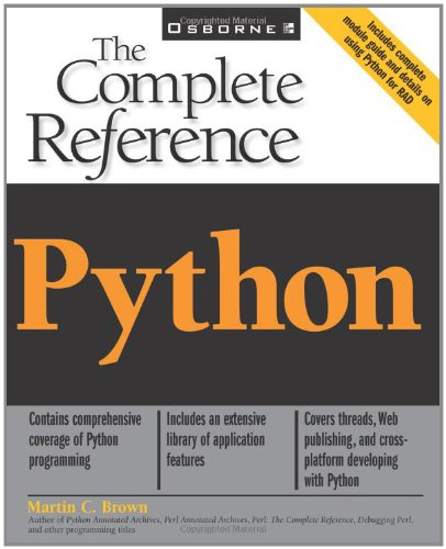 Python: The Complete Reference 9780072127188