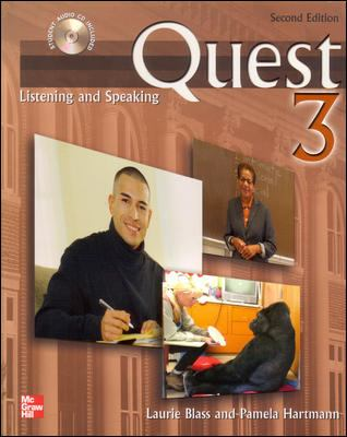 Quest 3: Listening and Speaking 9780073253312