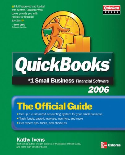 QuickBooks 2006: The Official Guide 9780072262322