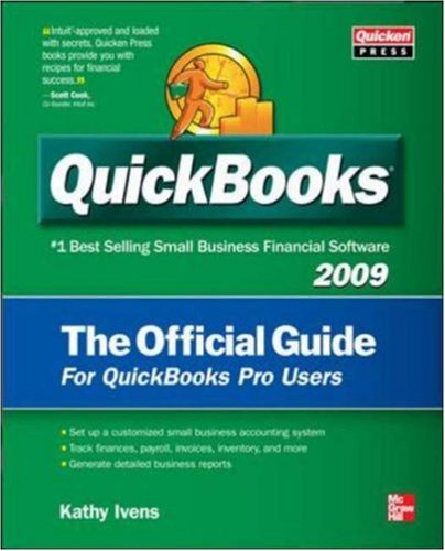 QuickBooks 2009 the Official Guide 9780071598590