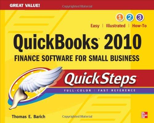 QuickBooks 2010 QuickSteps 9780071633321