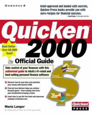 Quicken 2000: The Official Guide 9780072121407