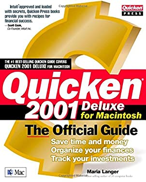 Quicken 2001 for the Mac: The Official Guide 9780072127751