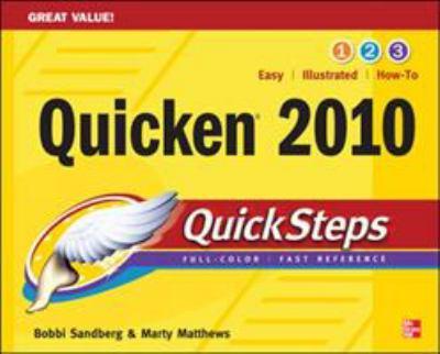 Quicken 2010 Quicksteps 9780071633369