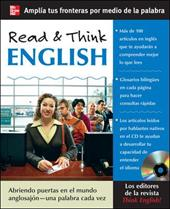 Read & Think English [With CD (Audio)] 257502