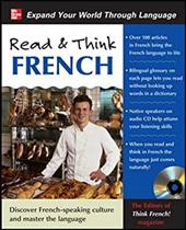 Read & Think French [With CD (Audio)] 260727