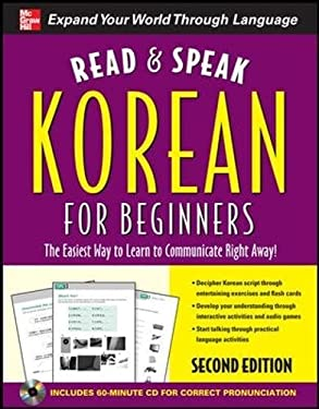 Read and Speak Korean for Beginners [With CD] 9780071768719