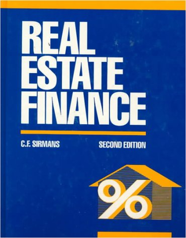 Real Estate Finance 9780070576988