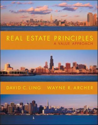 Real Estate Principles: A Value Approach 9780073046211