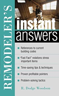 Remodeler's Instant Answers 9780071398299