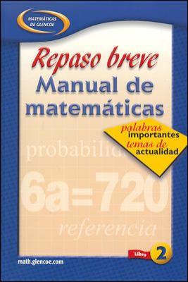 Repaso Breve Manual de Matematicas, Libro 2 9780078607530