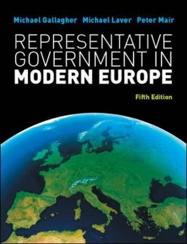 Representative Government in Modern Europe 9780077129675