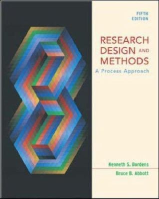 Research Design and Methods: A Process Approach with Powerweb 9780072932324