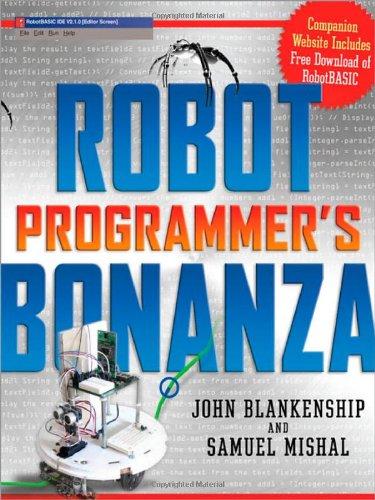 Robot Programmer's Bonanza 9780071547970