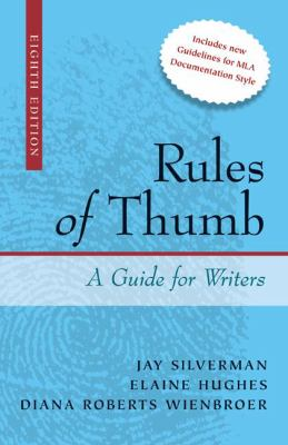 Rules of Thumb: A Guide for Writers 9780073384009