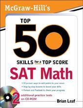 SAT Math [With CDROM] 259606
