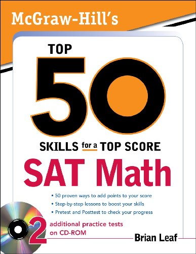 SAT Math [With CDROM] 9780071613910
