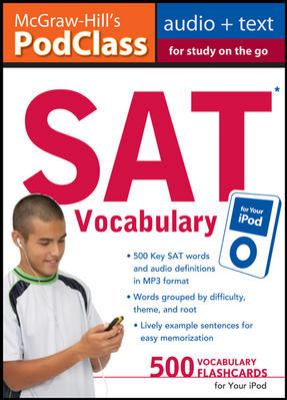 SAT Vocabulary for Your iPod [With 16-Page Booklet] 9780071628518