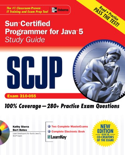 SCJP Sun Certified Programmer for Java 5: Exam (310-055) [With CD-ROM] 9780072253603