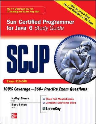 SCJP Sun Certified Programmer for Java 6 Study Guide: Exam (310-065) [With CDROM] 9780071591065