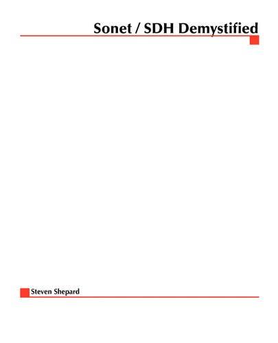 SONET/SDH 9780072125702