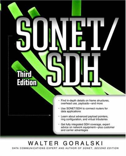 SONET/SDH 9780072225242